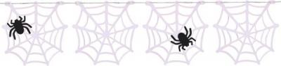 Guirnalda Araña en su Tela PVC