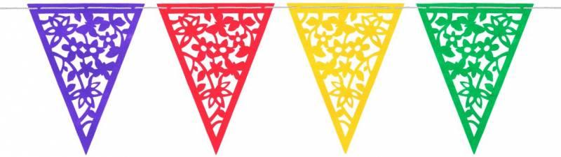 Banderín calado Multicolor