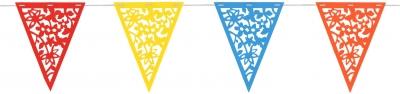 Banderín Calado Multicolor PVC
