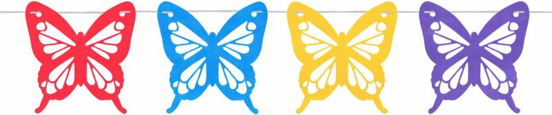 Mariposa Gigante Multicolor