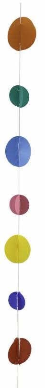 Hanging lineal con circulos multicolor