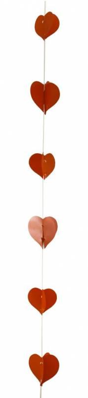 Hanging lineal con corazón monocolor