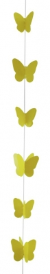 Hanging lineal con mariposa monocolor