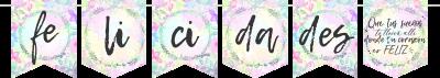 Banderín Positive Felicidades