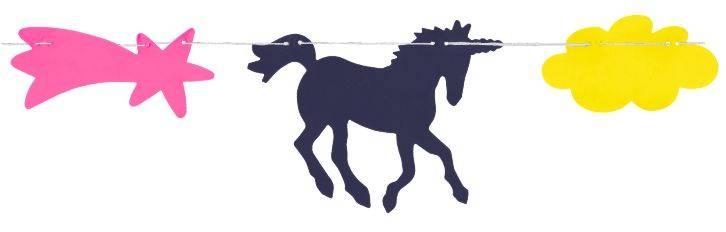 Guirnalda Unicornio PVC