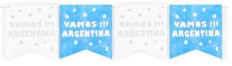 Banderin Vamos Argentina