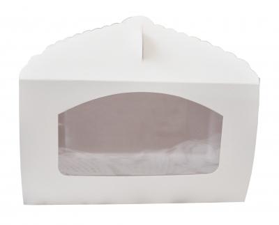 Caja con Visor para Muffin/Cupcake 21x14x12  TX