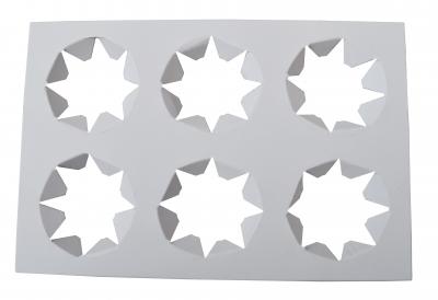 Base para 6 unidadesporta Cupcakes 21x14