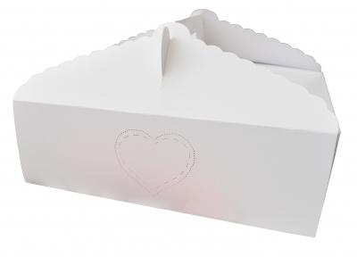 Caja Rectangular para Torta/Masas 30x20x10  TX