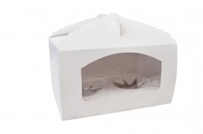 Caja con visor con porta Muffin para 2 unidades  TX