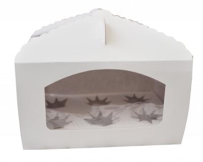 Caja con visor con porta Cupcake para 6 unidades   TX