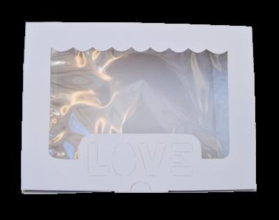 Caja Alfajor 22x16x4.5 cm LOVE