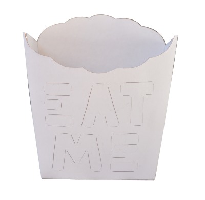Caja Papas Fritas 10X10X4 EAT ME!